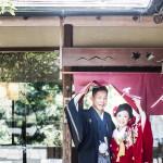 京都での和装ロケーションフォトウエディング