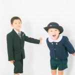 入園・入学記念写真の前撮りと一緒にウェディングフォトを