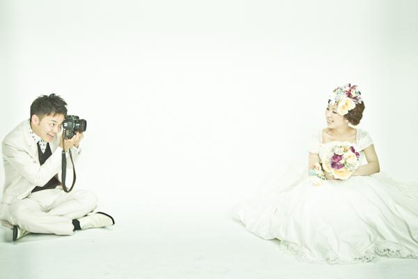 カメラマンのウエディングフォト