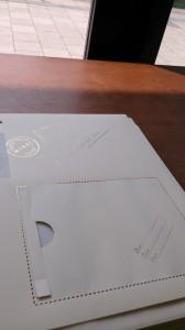 未来宛に手紙が入れれるのもオシャレ♫