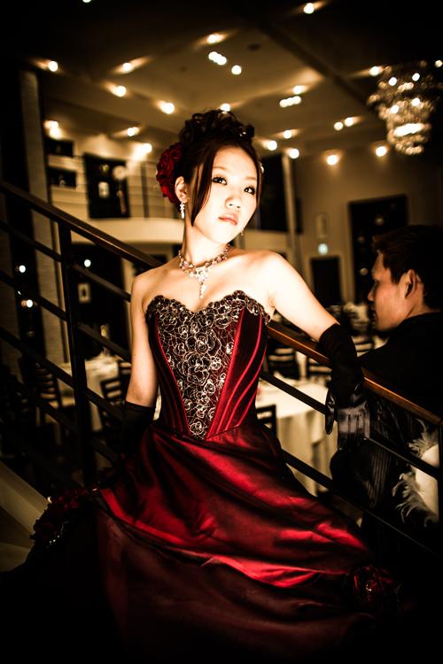 カラードレス写真
