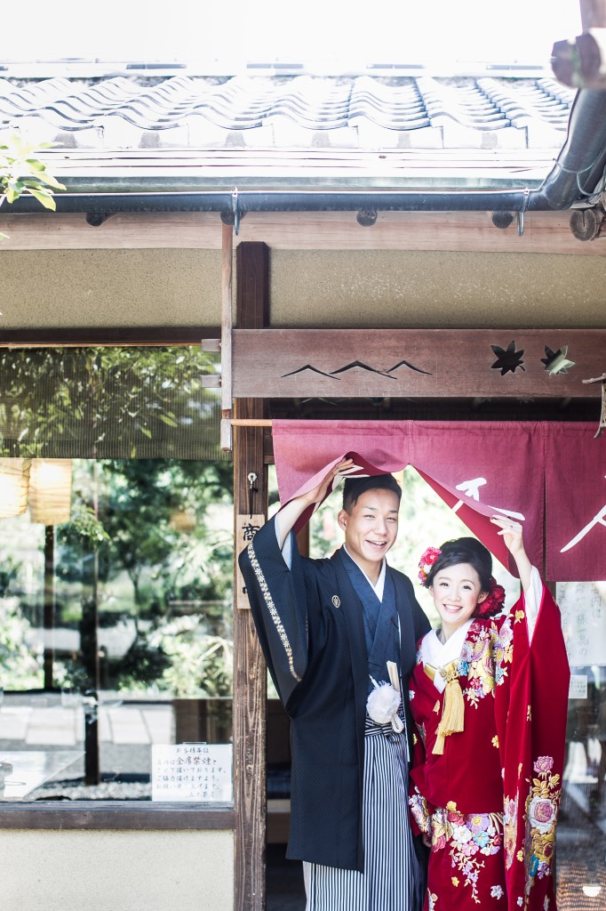 京都のお茶屋さんにて