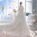 新作のウエディングドレスがぞくぞく(^ ^)