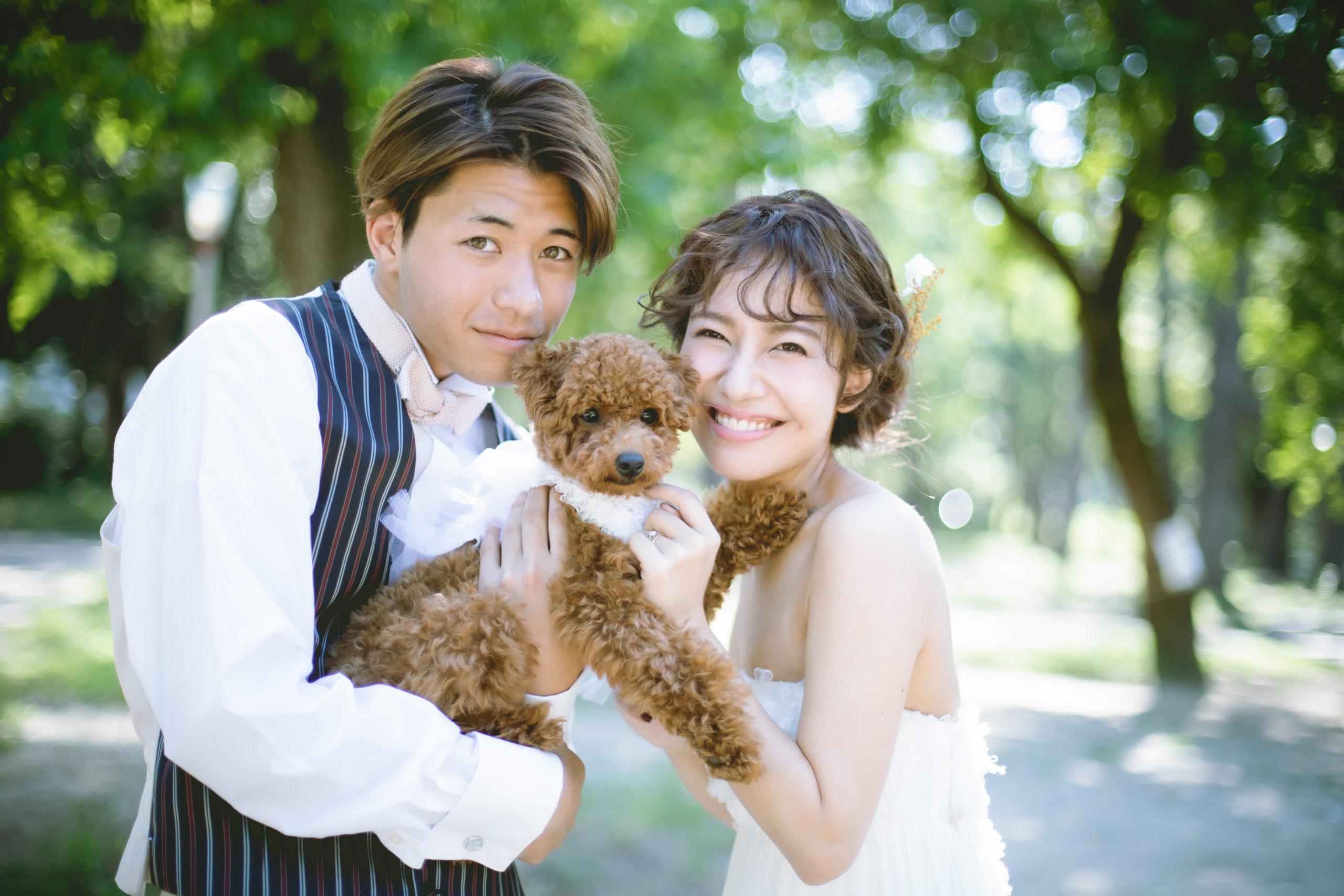 フォトウェディング,結婚写真,ロケ,ペット,大阪