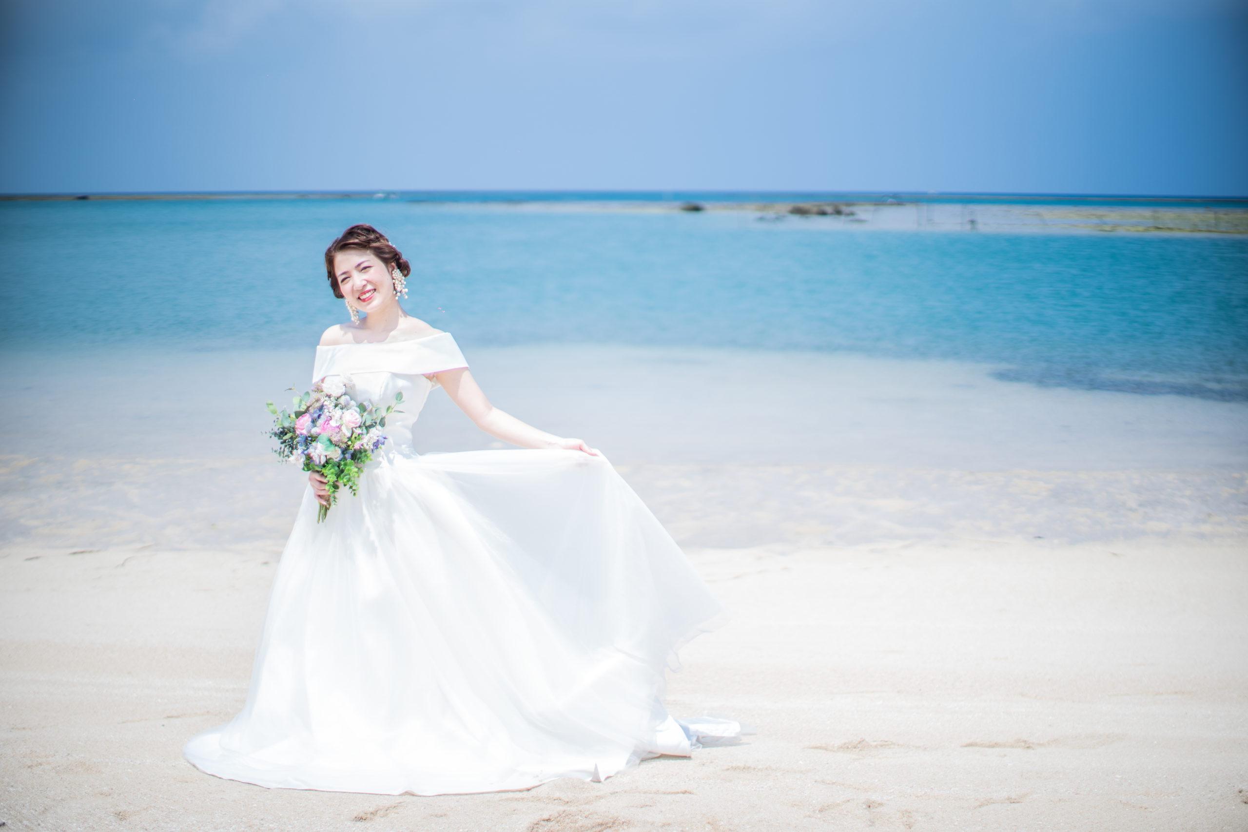 フォトウェディング,結婚写真,ドレス,沖縄,ロケ,海